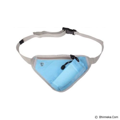 TOKO NIAGA INDO Multifunction Sport Bag - Blue - Tas Pinggang / Travel Waist Bag