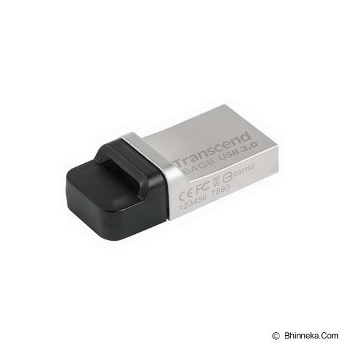 TRANSCEND JetFlash OTG 880 64GB [TS64GJF880S] - Usb Flash Disk Dual Drive / Otg