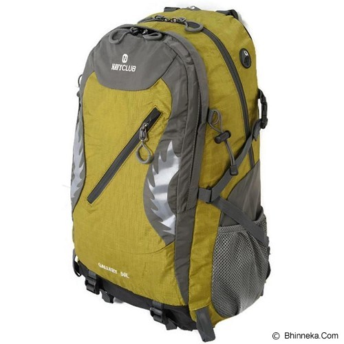 NAVY CLUB Hiking Backpack 50L - Green - Tas Carrier / Rucksack