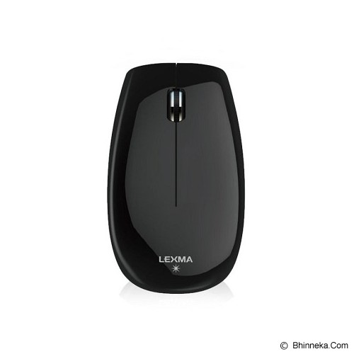 LEXMA Wireless Blue Trace Mouse [M715R] - Black - Mouse Basic