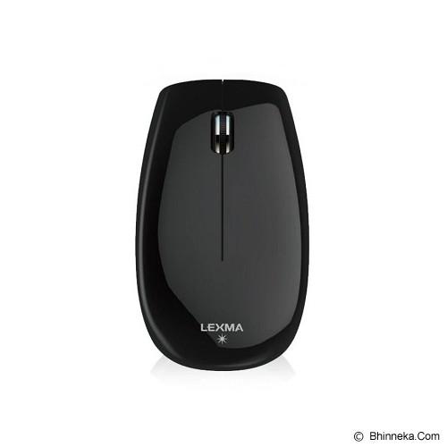 LEXMA Wireless Blue Trace Mouse [M715R] - Black - Mouse Basic