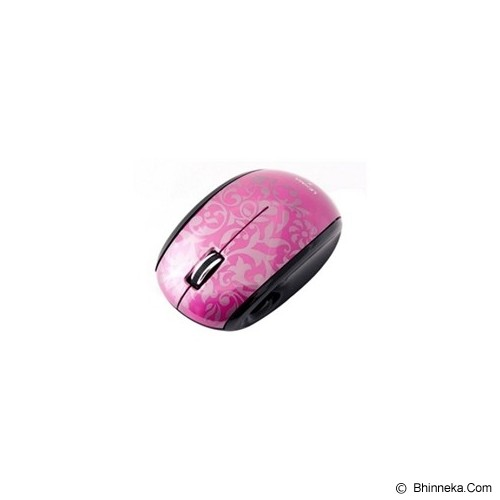 LEXMA Wireless Blue Trace Mouse [M710R] - Pink - Mouse Basic