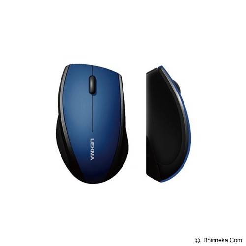 LEXMA Wireless Mouse [M265R] - Blue - Mouse Basic