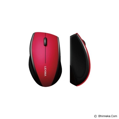 LEXMA Wireless Mouse [M265R] - Pink - Mouse Basic