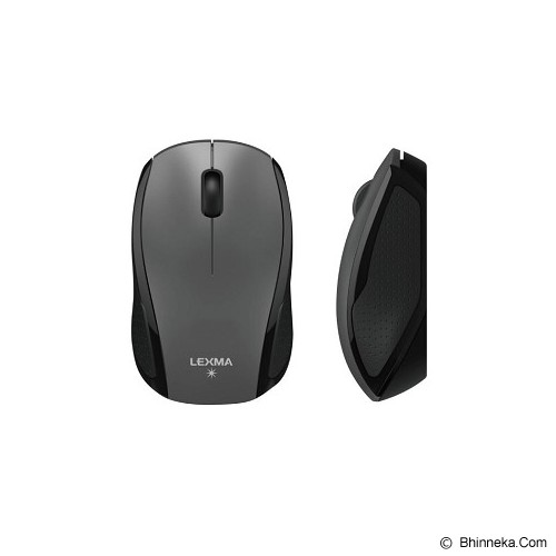 LEXMA Blue Trace Mouse [M727] - Gray - Mouse Basic