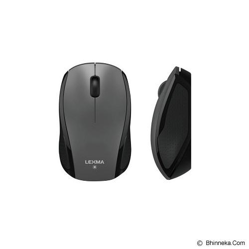 LEXMA Blue Trace Mouse [M727] - Gray - Mouse Basic