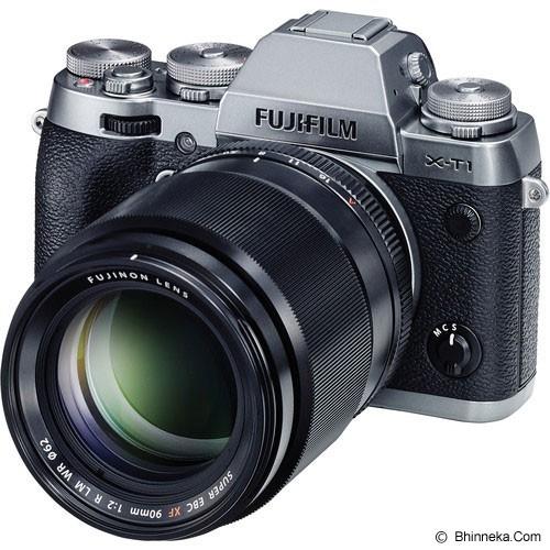 FUJIFILM XF 90mm f/2 R LM WR - Black - Camera Mirrorless Lens