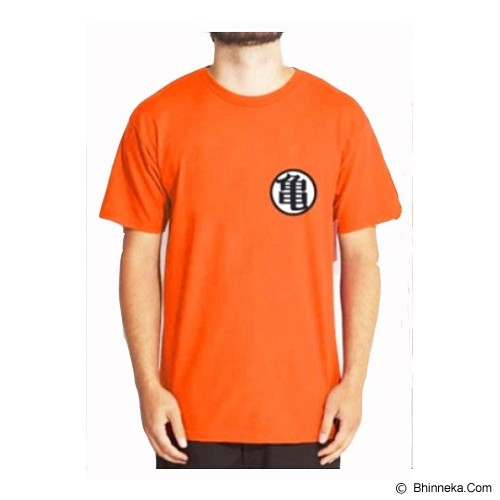 JERSICLOTHING T-Shirt Dragon Ball 05 Size S - Orange - Kaos Pria