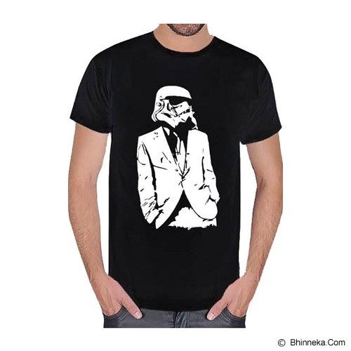 JERSICLOTHING T-Shirt Star Wars 01 Size S - Black - Kaos Pria