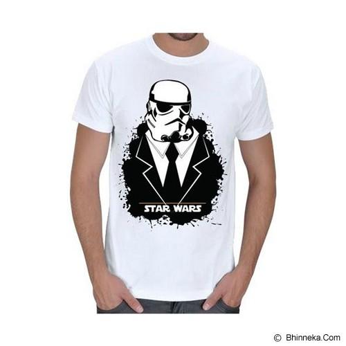 JERSICLOTHING T-Shirt Star Wars 07 Size S - White - Kaos Pria