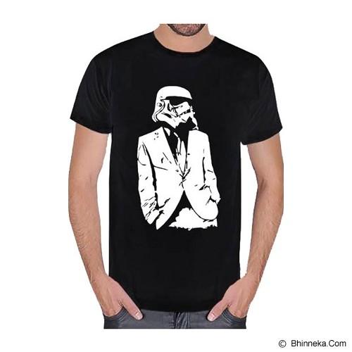 JERSICLOTHING T-Shirt Star Wars 01 Size M - Black - Kaos Pria