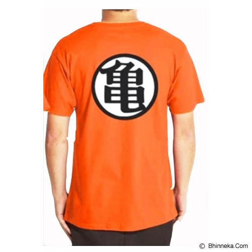 JERSICLOTHING T-Shirt Dragon Ball 05 Size L - Orange - Kaos Pria