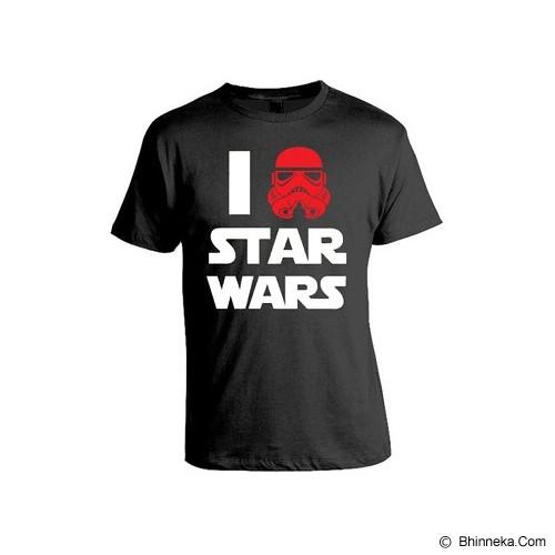 JERSICLOTHING T-Shirt Star Wars 06 Size XXL - Black - Kaos Pria
