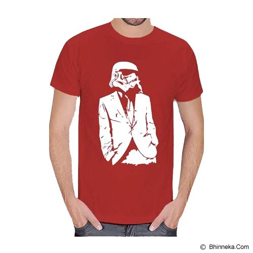 JERSICLOTHING T-Shirt Star Wars 02 Size XXXL - Red - Kaos Pria