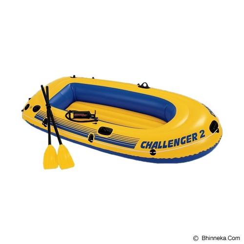 INTEX Challenger 2 Boat Set [68367] - Yellow - Perahu Karet