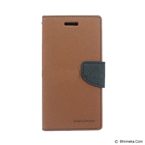 MERCURY GOOSPERY Samsung Galaxy Note 3 Neo Case - Brown/Black - Casing Handphone / Case