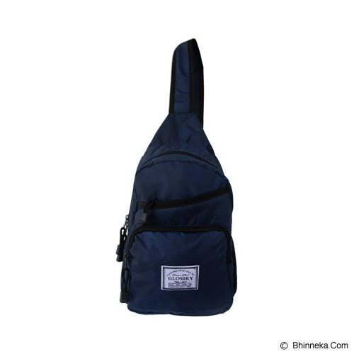 FASHIONLIZIOUS Waistbag 408 [W408N] - Navy - Tas Pinggang / Travel Waist Bag