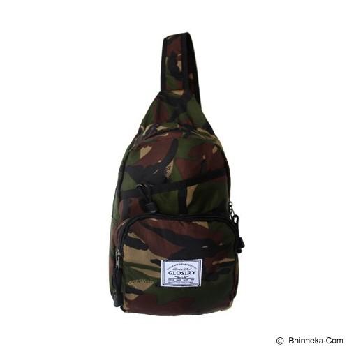 FASHIONLIZIOUS Waistbag 408 [W408A] - Army - Tas Pinggang/Travel Waist Bag