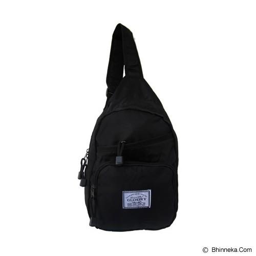 FASHIONLIZIOUS Waistbag 408 [W408B] - Black - Tas Pinggang/Travel Waist Bag