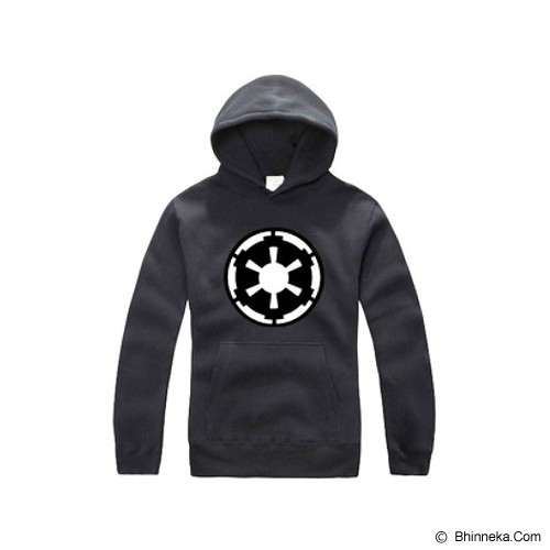 JERSICLOTHING Unisex Hoodie Star Wars Empire Velvet/Flock Print  Size XL -  Black - Sweater / Cardigan Pria