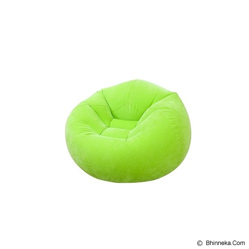 INTEX Beanless Bag Chair Assortment [68569] - Green - Bantal Duduk / Bean Bag