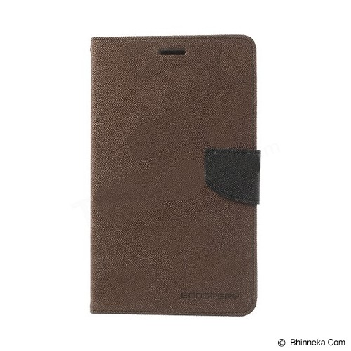 MERCURY GOOSPERY Samsung Galaxy Note Pro 12 Case - Brown/Black - Casing Tablet / Case