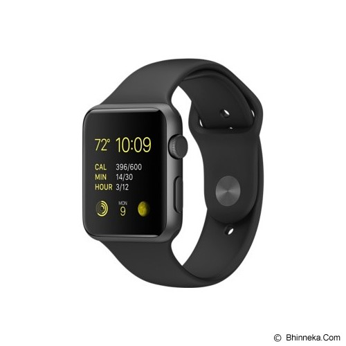 APPLE Watch 42mm Space Grey Alumunium Case with Grey Sport Band - Smart Watches