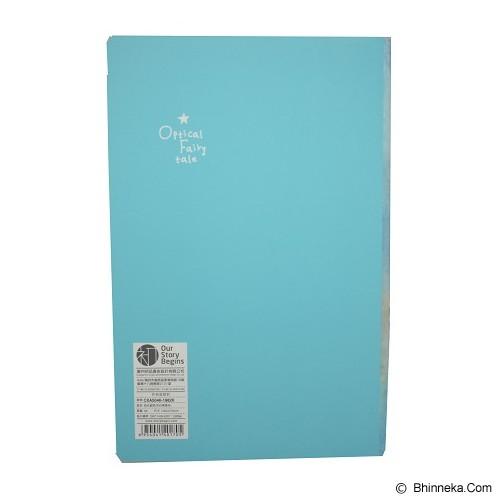OUR STORY BEGINS Notebook Optical Fairytale [62004300] - Blue (V) - Buku Catatan / Journal