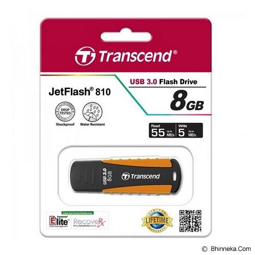 TRANSCEND JetFlash 810 8GB [TS8GJF810] - Usb Flash Disk Basic 3.0