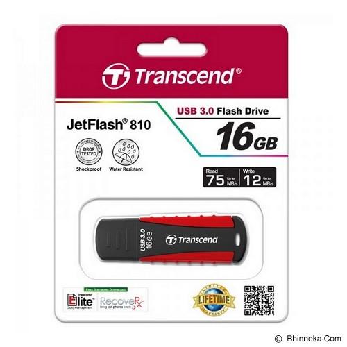 TRANSCEND JetFlash 810 16GB [TS16GJF810] - Usb Flash Disk Basic 3.0