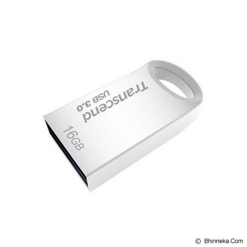 TRANSCEND JetFlash 710 16GB [TS16GJF710S] - Silver - Usb Flash Disk Basic 3.0