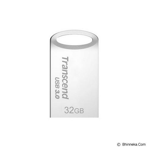 TRANSCEND JetFlash 710 32GB [TS32GJF710S] - Silver - Usb Flash Disk Basic 3.0