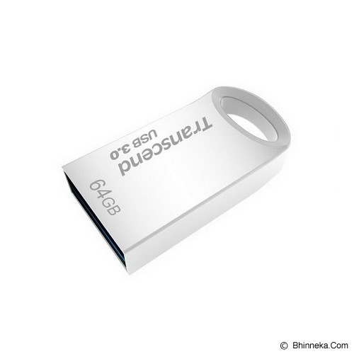 TRANSCEND JetFlash 710 64GB [TS64GJF710S] - Silver - Usb Flash Disk Basic 3.0