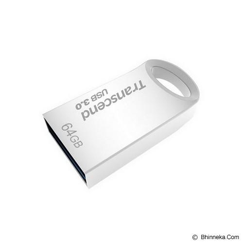 TRANSCEND JetFlash 710 64GB [TS64GJF710S] - Silver - Usb Flash Disk Basic 3.0