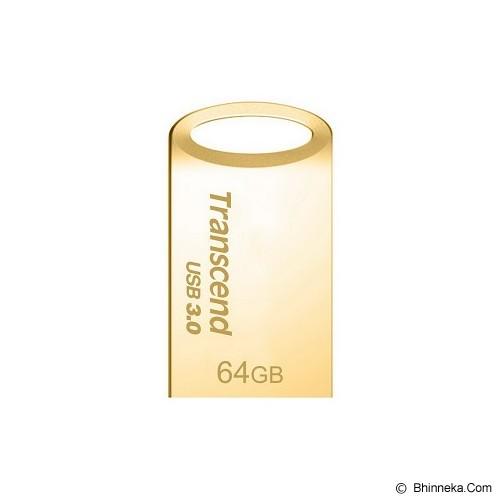 TRANSCEND JetFlash 710 64GB [TS64GJF710S] - Gold - Usb Flash Disk Basic 3.0