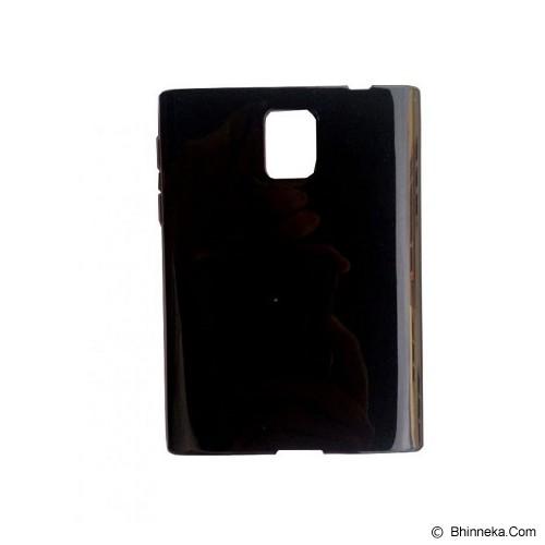 S-CH Blackberry Passport Jelly Case - Black - Casing Handphone / Case