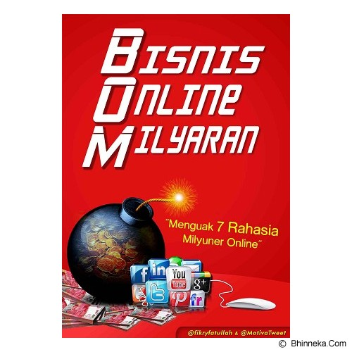 YUBISTORE Buku Bisnis Online Milyaran (BOM) - Craft and Hobby Book