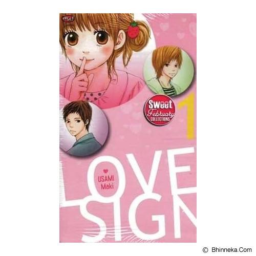 MNC Love Sign 1 Terbit Ulang - Craft and Hobby Book
