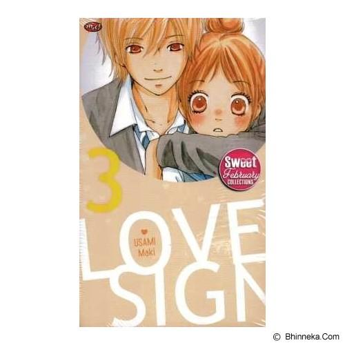 MNC Love Sign 3 Terbit Ulang - Craft and Hobby Book
