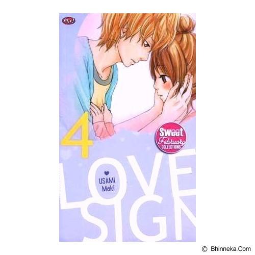 MNC Love Sign 4  (terbit ulang) - Craft and Hobby Book