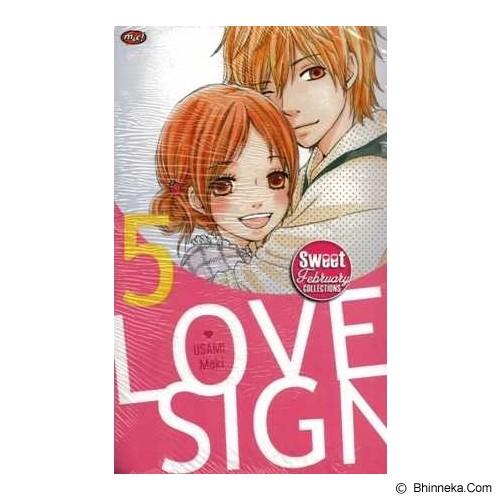 MNC Love Sign 5  (terbit ulang) - Craft and Hobby Book