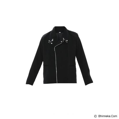 GOOG ON Jacket Korea Double Zipper Size M [K-08] - Jaket Casual Pria