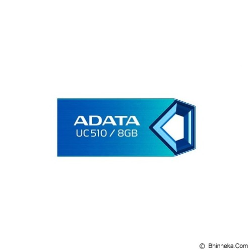 ADATA USB 2.0 8GB [UC510] - Blue (Merchant) - USB Flash Disk Basic 2.0