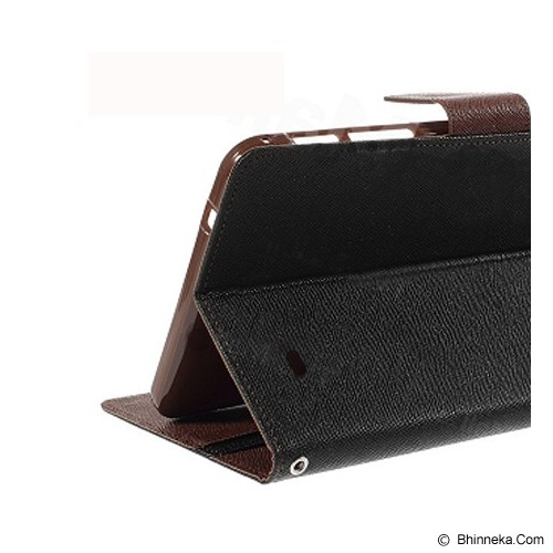 MERCURY GOOSPERY Samsung Galaxy Tab 4 10.1 Case - Black/Brown - Casing Tablet / Case