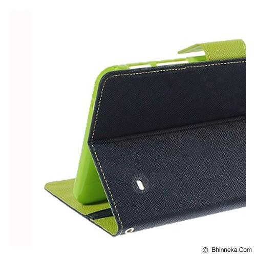MERCURY GOOSPERY Samsung Galaxy Tab 4 10.1 Case - Navy/Lime - Casing Tablet / Case