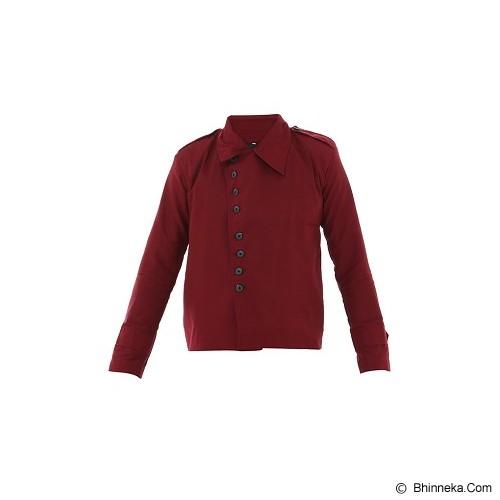 GOOG ON Red Korean Style Jacket Size S [K-22] - Jaket Casual Pria