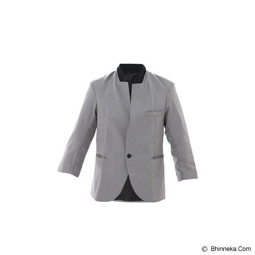 GOOG ON Gray Korean Blazer Style Size S [K-30] - Blazer Pria