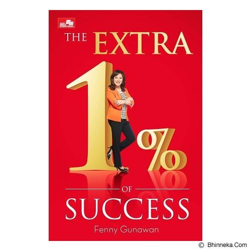 ELEX MEDIA KOMPUTINDO The Extra 1% of Success - Craft and Hobby Book
