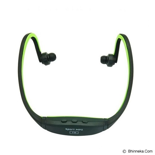 PALUGADA Sport MP3 Earphone - Green - Mp3 Players