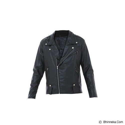 GOOG ON Leather Korean Bikers Jacket Size L [K-44] - Jaket Casual Pria